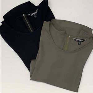 2-pack Express 3/4 sleeve tops